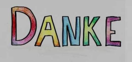 Danke für… cancioncilla para estudiantes de alemán iniciales no apta para diabéticos. (Con letra)